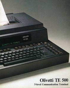 Telescrivente Olivetti TE 530, '80
