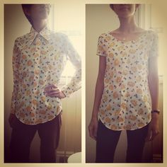 .refashion a blouse