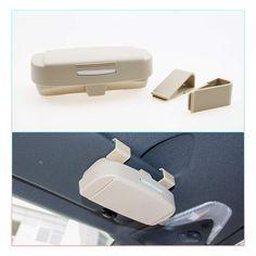 LFOTPP Car Sunglasses Sun Glass Holder Case Eyeglasses Storage Box for 2018 C-HR,/Interior Accessories Autos Parts Beige