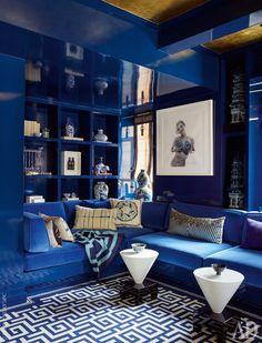 Квартира в Нью-Йорке: фото интерьеров от дизайнера Келли Бехун | AD Magazine