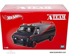 the a team hot wheels van