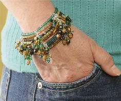 DIY - Bangle Bracelet with Dangles
