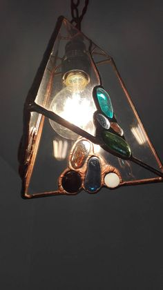 hanging lamp-tiffany lamp-stained glass lamp
