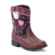 Toddler Cowboy Boot - Hello Kitty
