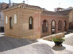 Lavanderia e fonte dos cinco tubos de El Padul, província de  Granada, Comunidade Autônoma da Andaluzia, Espanha.  Fotografia: Jadelmo.