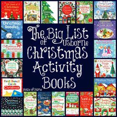 The Big List of Usborne Christmas Activity Books b-House of Burke