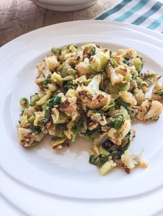 Cauliflower salad is the perfect substitution for potato salad at any gathering. This recipe is light, tangy, smoky and delicious!