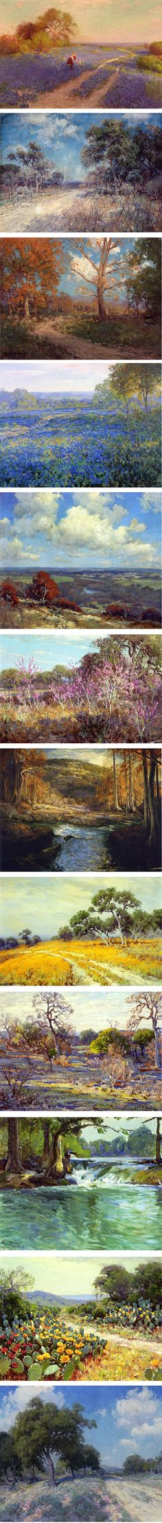 pretty landscape paintings by Julian Onderdonk