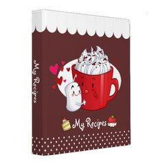 Hot Cocoa Recipe Binder By YamPuff