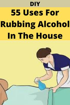 Natural Cleaning Solutions, Natural Cleaning Products, Household Cleaning Tips, Cleaning Hacks, Home Hacks, Diy Hacks, Diy Funny, Rubbing Alcohol, Useful Life Hacks