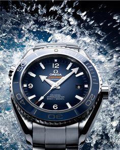 #OMEGA Planet Ocean Blue Liquidmetal