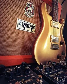 Let's see now... A gold @prsguitars @orangeamplifiers @strymonengineering El Capistan and @keeleyelectronics Germanium Monterey Special. @falling_into_autumn570 looks like you have a pretty good day. #Stringjoy #Geartalk #Guitarist #GearNerds #GuitarPlayer #GearWire #KnowYourTone #GuitarGear #Guitar #CleanTone #ToneForDays | Create your custom string set today at Stringjoy.com #guitar #guitars #electric #acoustic #bassguitar