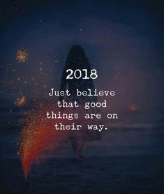 Good things are on the way
