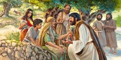 Imitate Jesus! Jesus speaks tenderly to those with troubled hearts. JW.ORG