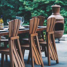 69 Ideas garden furniture diy table backyards for 2019 Pallet Furniture Plans, Diy Garden Furniture, Diy Outdoor Furniture, Home Decor Furniture, Pool Furniture, Furniture Ideas, Outdoor Seating, Outdoor Chairs, Outdoor Decor