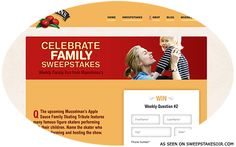 Celebrate Family Sweepstakes Win A Trip, Potpourri, University, This Or That Questions, Park, Celebrities, Fun, Gifts, Celebs