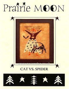 Cat VS Spider - Prairie Moon