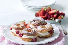 Eclairs, Gluten Free Recipes, Doughnut, Sugar Free, Good Food, Goodies, Vegan, Baking, Breakfast