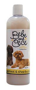 Bebe and Cece dog shampoo by Bobbi Panter Oatmeal & Shea Butter