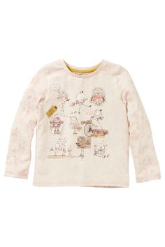 Buy Oatmeal Embellished Bird Top (3mths-6yrs) from the Next UK online shop