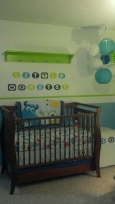 Disney Baby Monsters Inc Theme Decor Nursery Monstersinc Boy S Pinterest Babies And