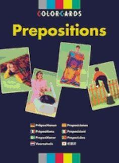 ColorCards - Prepositions -kuvakortit