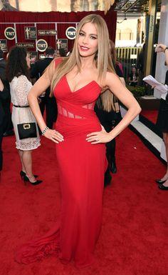 SOFIA VERGARA at the Screen Actors Guild Awards 2015 #SAGs #hair #beauty