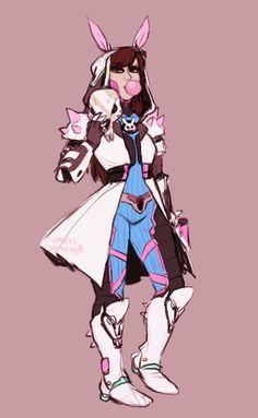 D.va and reaper fusion