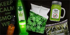 Check out all this sweet marijuana swag #StonedInsider