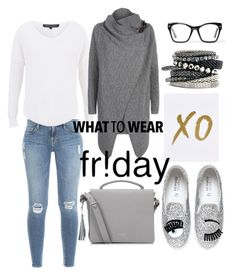 """""""Fr!day!!! What to wear?"""" by mediasky ❤ liked on Polyvore featuring xO Design, Frame Denim, French Connection, Chiara Ferragni, Polo Ralph Lauren, H&M, Spitfire and Radley"""
