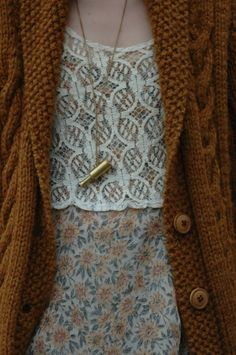 I like the texture layering. It's like a gateway drug to the world of pattern mixing.