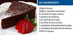 Sei un amante del #cioccolato e non vuoi farne a meno?  Perché mai dovresti!? :-)  Clicca qui e troverai la ricetta per preparare questa buonissima torta senza lattosio: http://on.fb.me/1nNOGRd