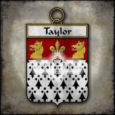 Taylor Family Crest - Irish Coat of Arms