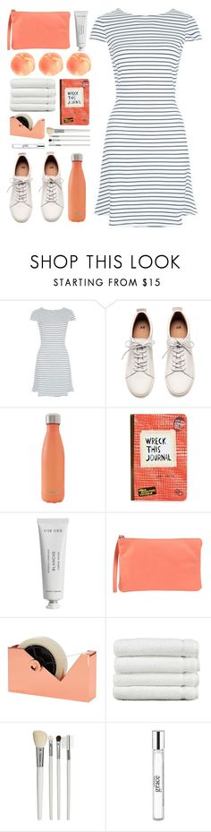 """<3"" by lover-of-pie ❤ liked on Polyvore featuring H&M, S'well, Urban Outfitters, Byredo, 3 Chic, Tom Dixon, Linum Home Textiles, Cath Kidston and philosophy"