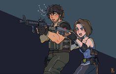 Pin on Anime / Manga / Art Carlos Resident Evil, Resident Evil Anime, Resident Evil Girl, Resident Evil 3 Remake, Game Character, Character Design, Ed Wallpaper, Evil Art, Jill Valentine