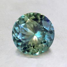 Stunning 6.5mm Teal Round Sapphire