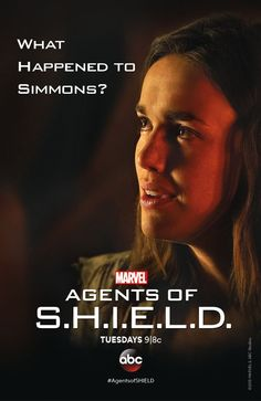 Simmons - Agents of SHIELD.