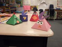3D shapes  Tales of a Fourth Grade Teacher: Angry Birds Geometry Lesson
