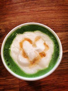 Delicious matcha lattes made with love at Just Matcha Tea Shop.