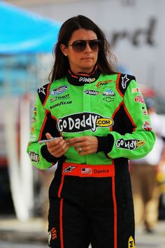 """I'm not going to do anything in my life part way."" Danica"