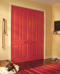 Otra combinación que nos gusta recomendar es las de los colores en la gama de los naranja, terracota y rojo. Podes pintar tu puerta con nuestros esmaltes y darle el color que más te guste!