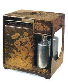 Old Japanese bento box