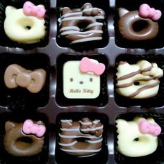 hello kitty chocolates #kawaii