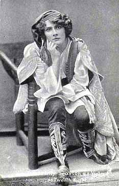 Viola: Twelfth Night. Because no one knows disgruntled like I do.