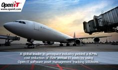 See how this well-known aerospace company used Open iT software to be able to yield a high return on investment, with a 47% cost reduction of their annual IT costs. >> http://openit.com/avioaerospace.html