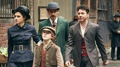 Houdini & Doyle is utter tosh, but terrific tosh - The show is anchored in the absurd notion that Harry Houdini and Sir Arthur Conan Doyle teamed up to solve crimes and mysteries and such
