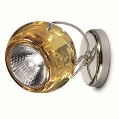 Beluga Colour G13 Ceiling-/Wall lamp, yellow
