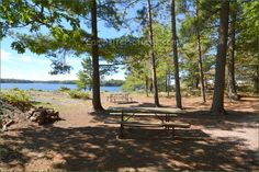 Killbear Provincial Park, Camping in Ontario Parks Ontario Parks, Algonquin Park, Campsite, Outdoor Furniture, Outdoor Decor, Beautiful World, Picture Video, Backgrounds, Canada