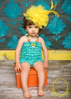 HAUTE CHILD in the CITY yellow headband for fun by missrubysue, $50.00