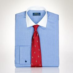 Polo Ralph Lauren Custom-Fit French-Cuff Regent on shopstyle.com